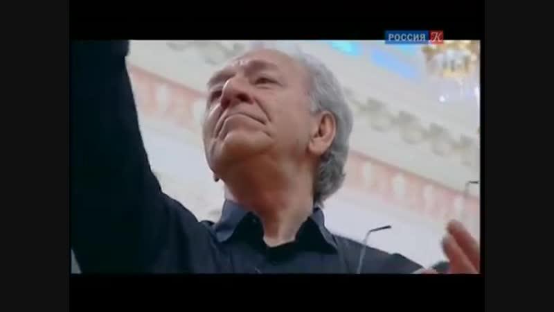 Автопортрет на полях партитуры. Юрий Темирканов