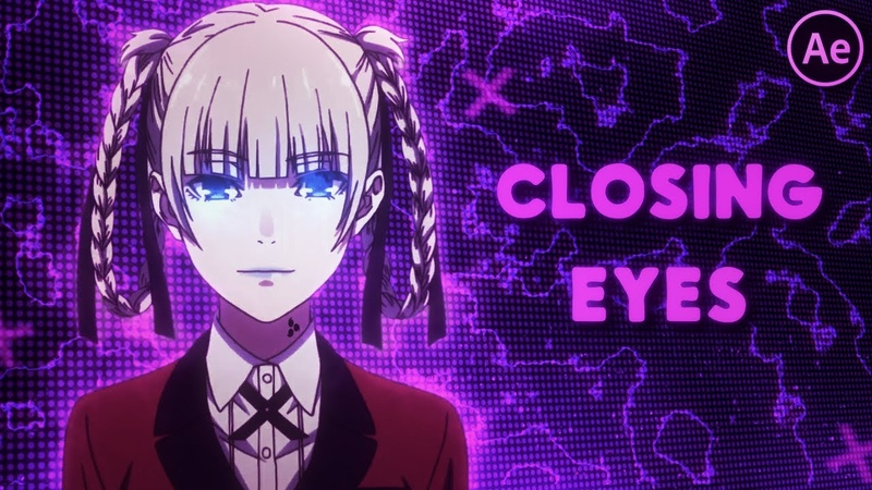 Closing Eyes Effect | After Effects Tutorial AMV