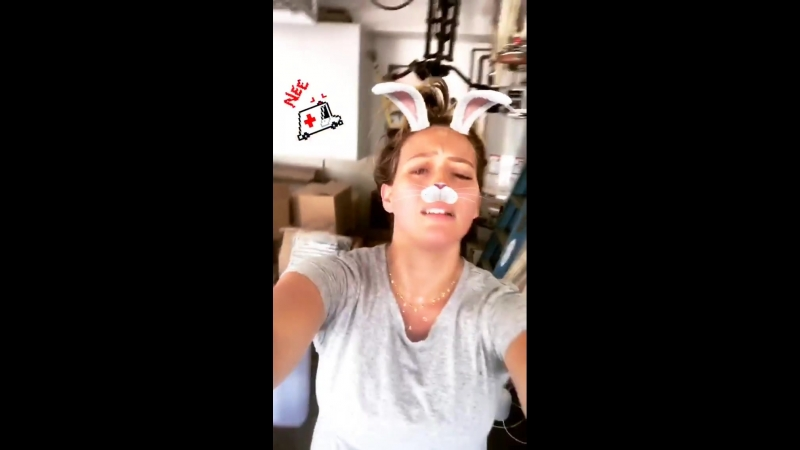 Instagram Stories Hilary Duff   08.08.2018