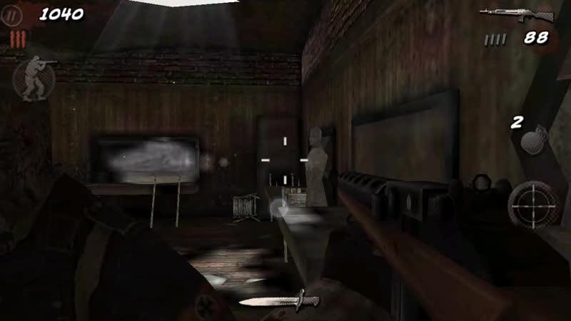 COD:BOZ лагнутый зомби