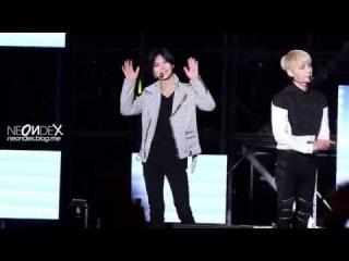 [FANCAM] 140823 SHINee (TaeMin focus) @ Motorsports Festival 'M-Super Concert'