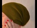 Beanie hat, machine knitting pattern, rib 1x1