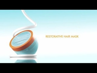 How To: Moroccanoil Restorative Hair Mask