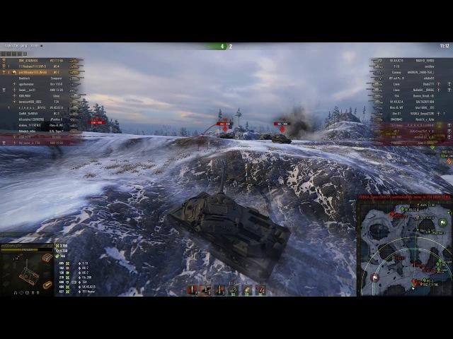 ИС-7, Заполярье, Стандартный бой
