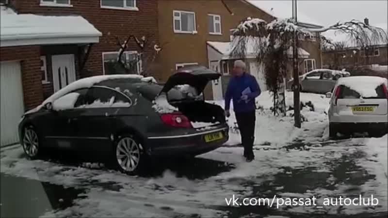 Когда забыл, что зима ... PASSAT CC