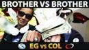 EG vs NEW COL Team TOP 1 Rank vs TOP 2 Rank Brother vs Brother CRAZY NA BATTLE EPIC Dota 2