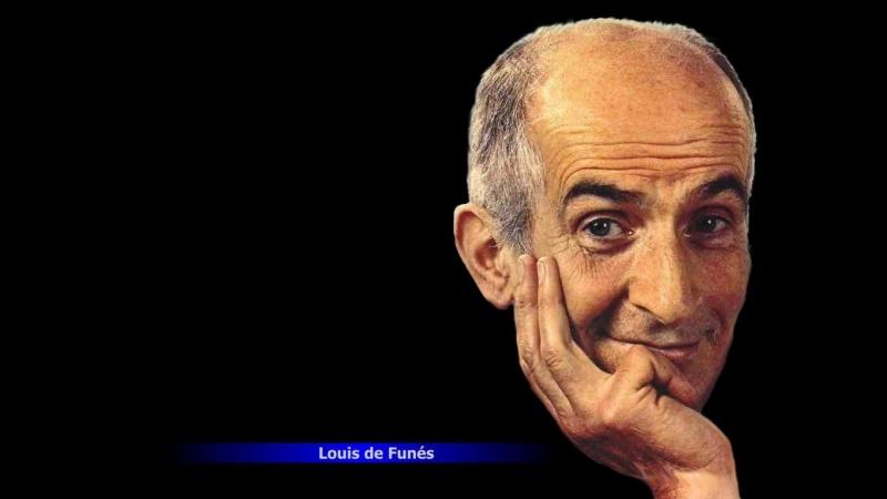 Луи де Фюнес - Интервью (Французский Язык)