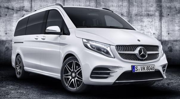 Обновлённый Mercedes-Benz V-Class: новый дизель и электрическая версия на подходе.