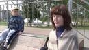 Погром в Комсомольском парке