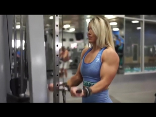 Hard Muscle Girl - Hot Dream for Ever Man in World