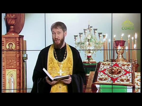 Читаем Евангелие вместе с Церковью. 19.11.2018