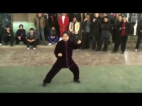 Chen Xiaoxing demonstrating Xinjia Yilu in Chenjiagou
