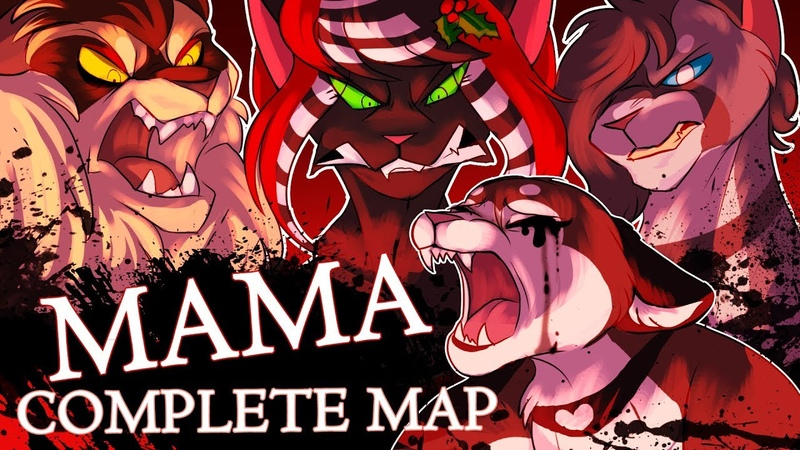 MAMA, WE ALL GO TO HELL   Complete Warriors MAP [Warning: Eye Strain]