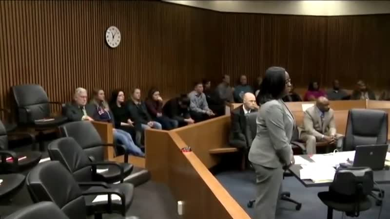 Judge jails woman after laughing at victims family IN COURT