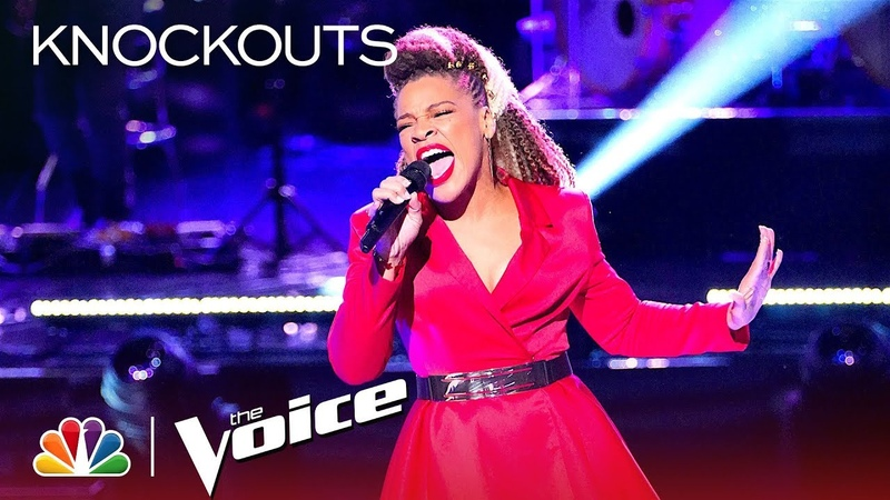 SandyRedd Continues to Astound with Ariana Grande's Dangerous Woman - The Voice 2018 Knockouts