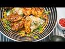 Куриные крылышки в остром соусе с картофельной колбаской | КПЗ. Офлайн