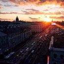 Красота петербургских закатов