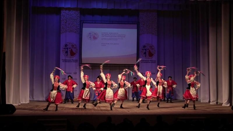 Чемпионат России по народным танцам 2018 Юность Кубани