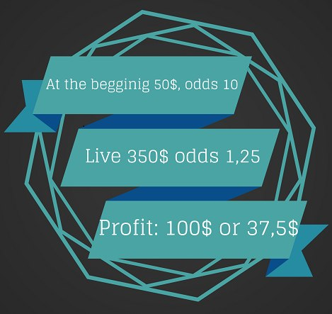 live bets
