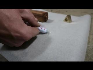 Making the Forbidden Tri-edge Dagger Knife.mp4