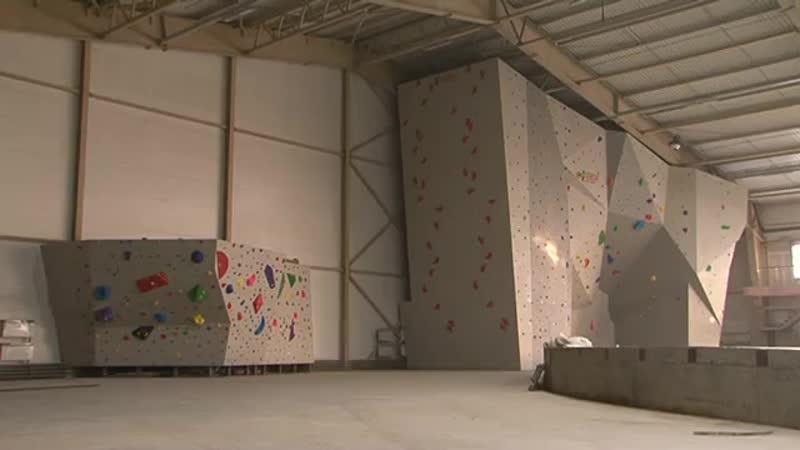 В Абакане готов искусственный скалодром высотой с пятиэтажку