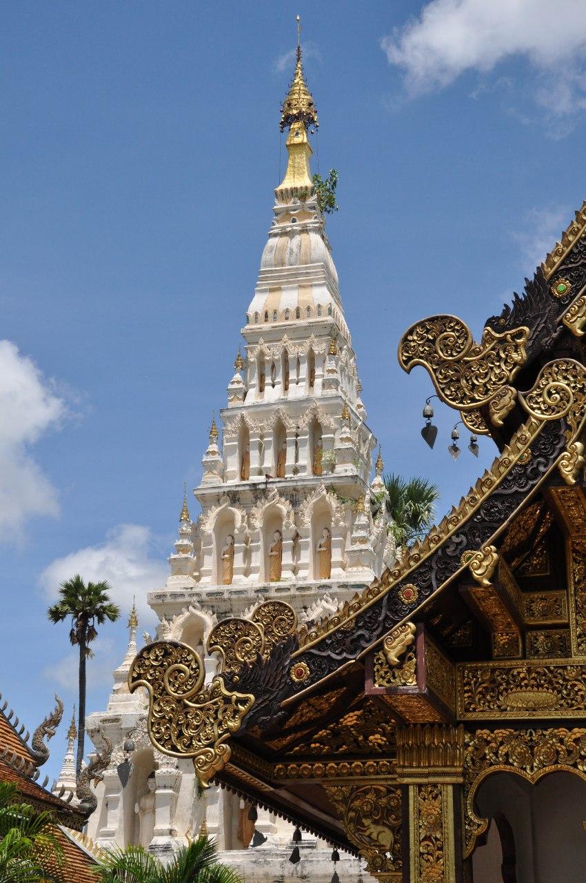 храмы Чиангмая
