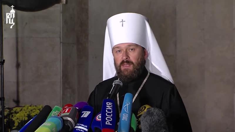 Состоялся брифинг по результатам заседания Священного Синода в Минске