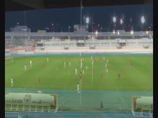 Friendly match Sharjah vs AGMK 0-1