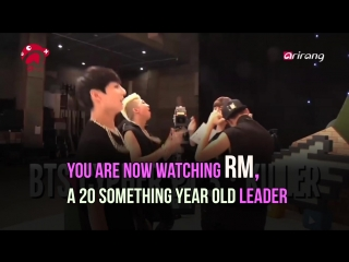 181002 [A+Story] RM, were you always this awesome, ArirangTV