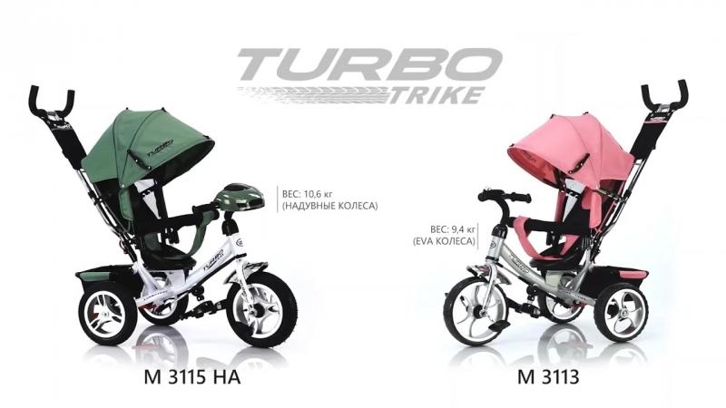 Велосипед TURBO TRIKE АРТ 3113