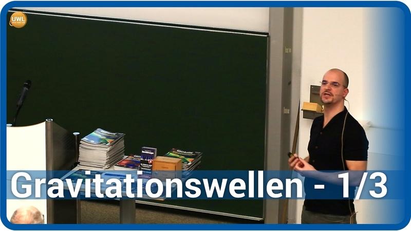 Gravitationswellen (1/3) • verschmelzende Schwarze Löcher • Live im Hörsaal | Andreas Müller