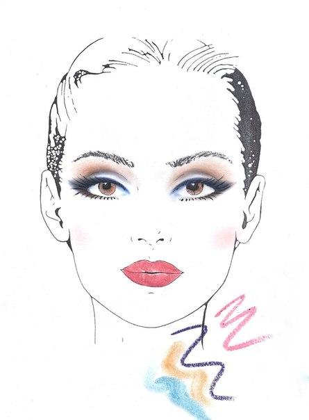 вас новая схема - Make-up