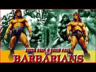 Братья-варвары / The Barbarians / The Barbarian brothers. 1987. 1080p. VHS