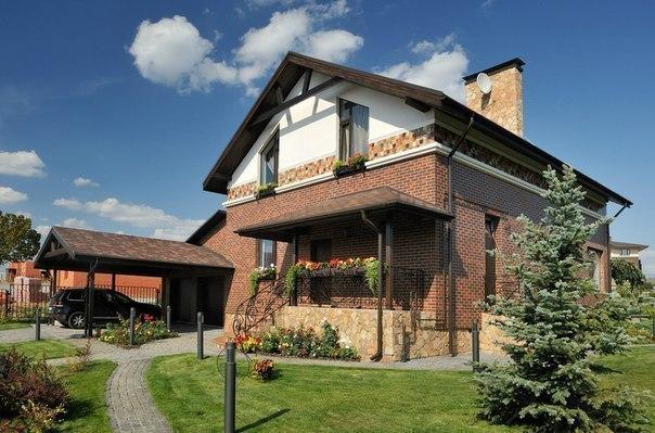Замечательный загородный домик