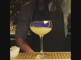 This bartender making a drink - wait till the final step