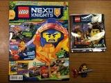ОБЗОР НОВОГО ЖУРНАЛА LEGO NEXO KNIGHTS #8 ЗА 2018 ГОД / ПОСЛЕДНИЙ ВЫПУСК ЖУРНАЛА LEGO NEXO KHIGTS ?!
