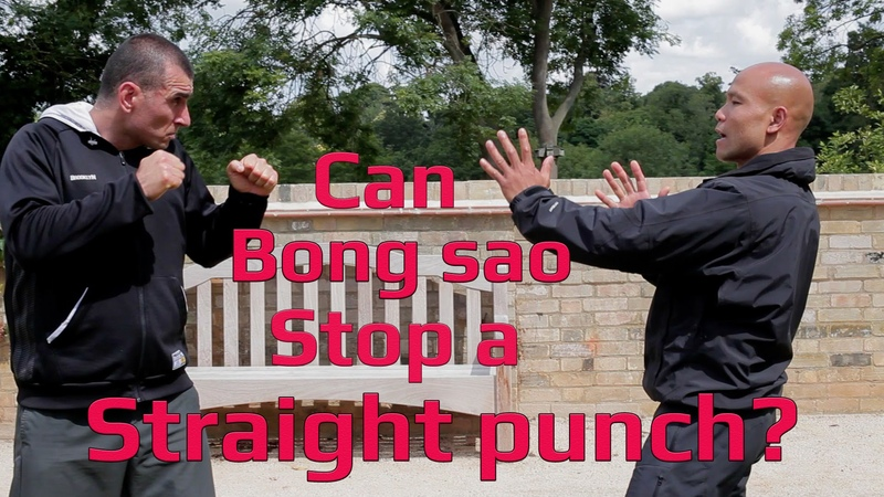 Can wing chun bong sao stop a straight punch?