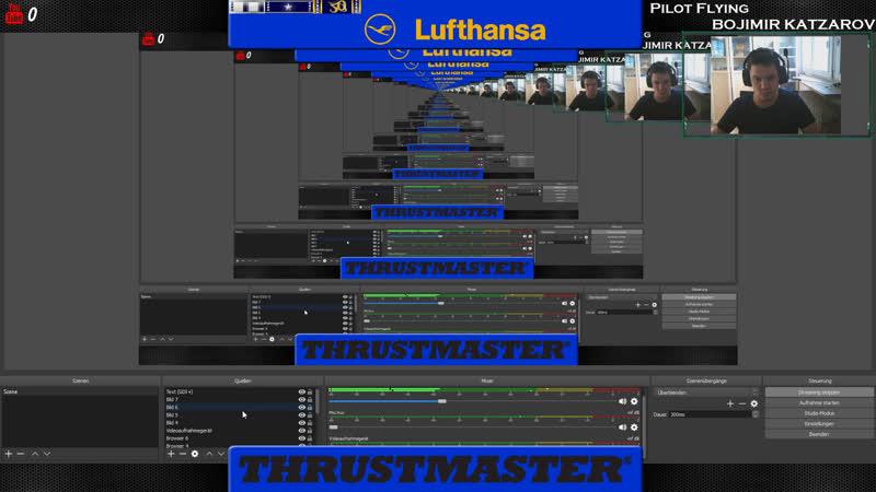 LIVE Prepar3D v4.2 Baku- Frankfurt |Lufthansa |Airbus A320 |IVAO |1980 nm