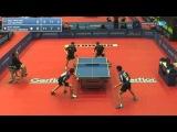 European Championships 2013 APOLONIA / MONTEIRO (POR) - GAUZY / LEBESSON (FRA)