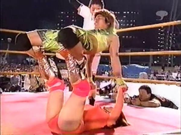 FMW 2001 womans tag team match