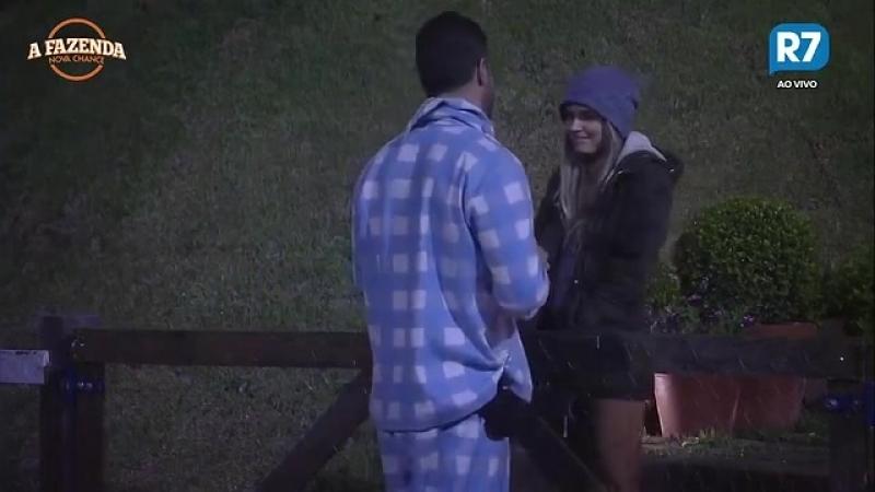 Flavia diz que está preocupada com Roça de Marcelo