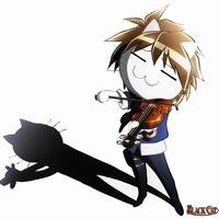 Black cat  Чёрный кот