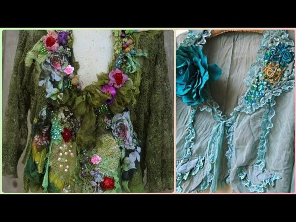 Shabby Chic boho embroidered jackets design gor women/hippie style clothing's