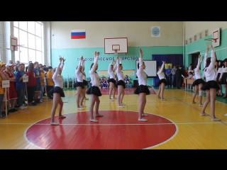 Танец. (Омская федерация черлидинга команда