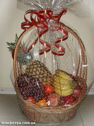 Корзинки с фруктами своими руками фото