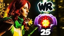 FIRST LEVEL 25 WINDRANGER Divine Rank HOW TO RAMPAGE in 3sec CRAZY Gameplay Dota 2