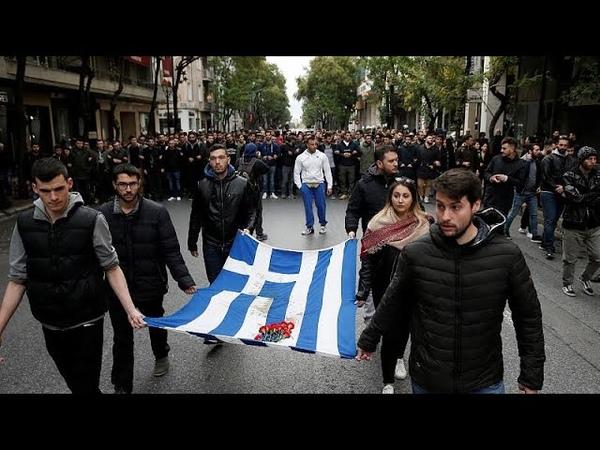 Афины: 45-я годовщина восстания студентов