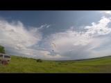 Летние тренировки  на парадроме в Белинском