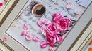 Розы на нотах Panna Вышивка лентами