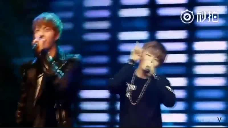 On BTSs debut showcase 12.06.2013 Taehyung was so emotional and had teary eyes, he was a h.mp4